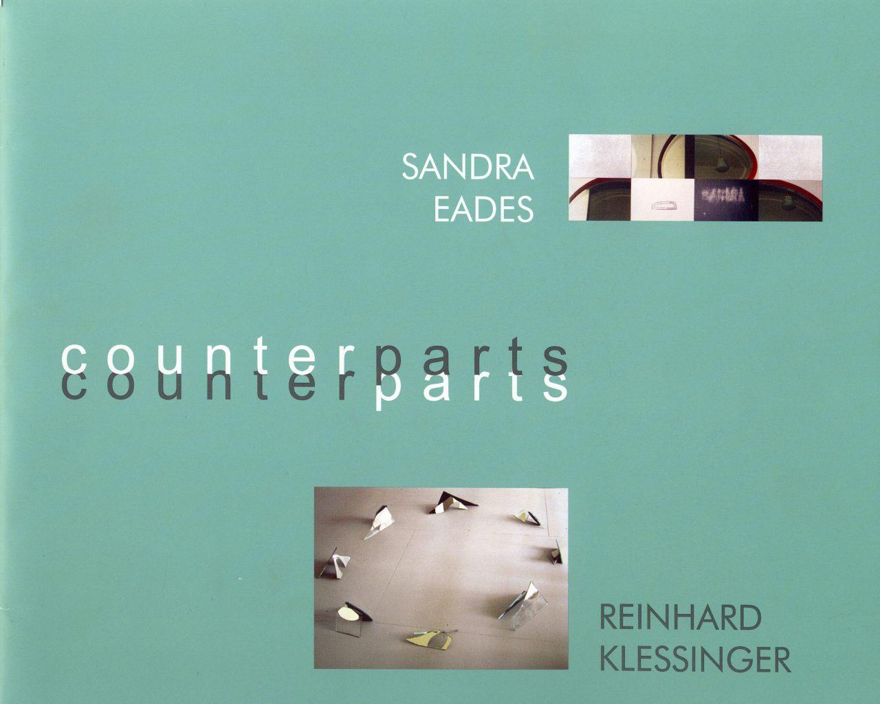 SANDRA EADES & REINHARD KLESSINGER. COUNTERPARTS