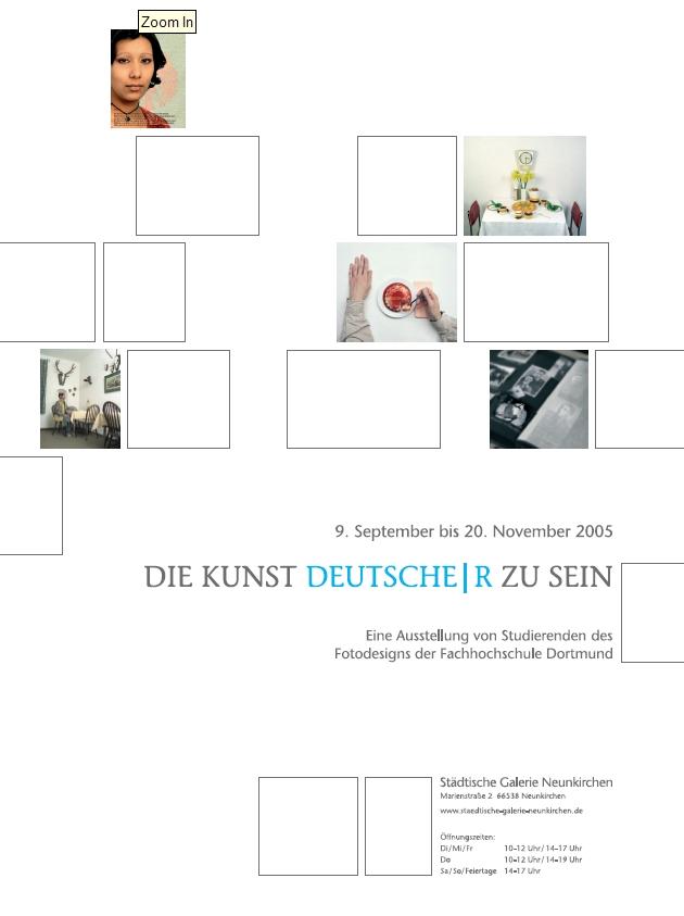 Die Kunst, Deutsche|r zu sein